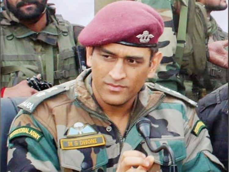 Lt Colonel MS Dhoni