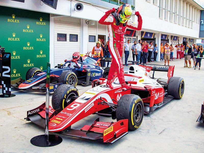 Prema Racing's Mick Schumacher