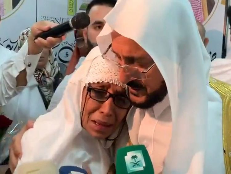 Saudi Arabia's Minister of Islamic Affairs Sheikh Abdullatif Al Asheikh