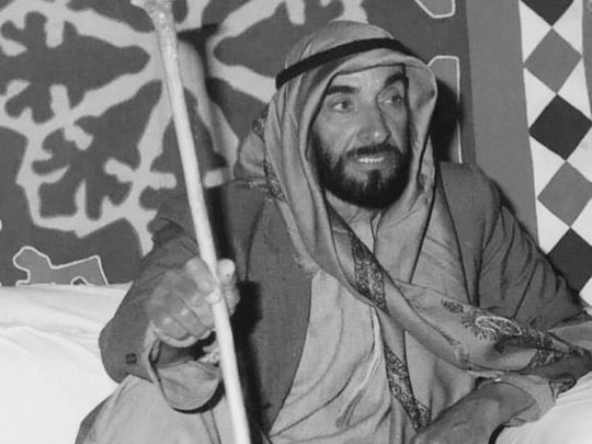 53rd accession day of Sheikh Zayed Bin Sultan Al Nahyan