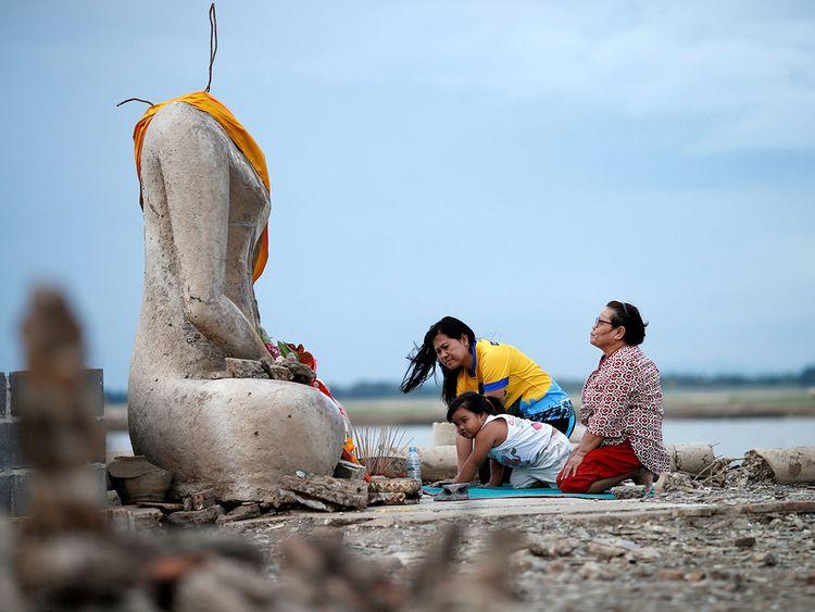 Buddha statue,