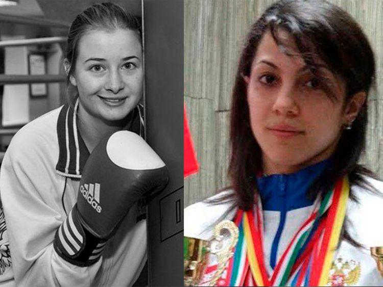 Fatima Zhagupova and Elina Gismeeva