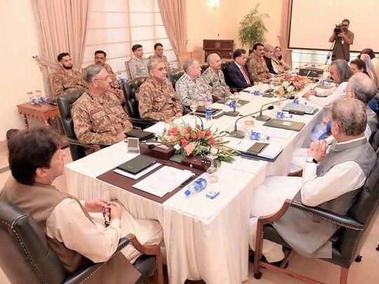 Imran  Khan meeting 20190806