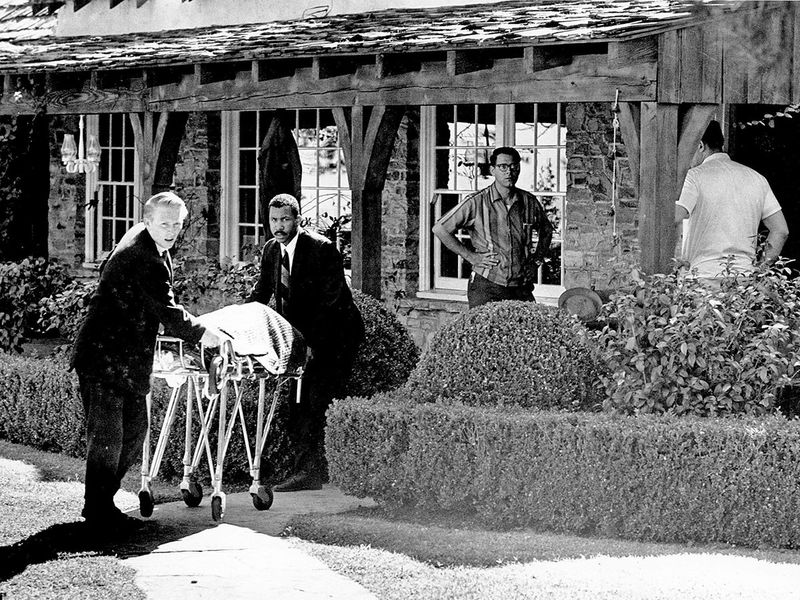 Manson family murders