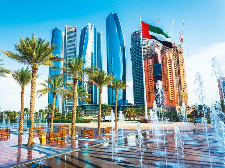 Office towers in Abu Dhabi