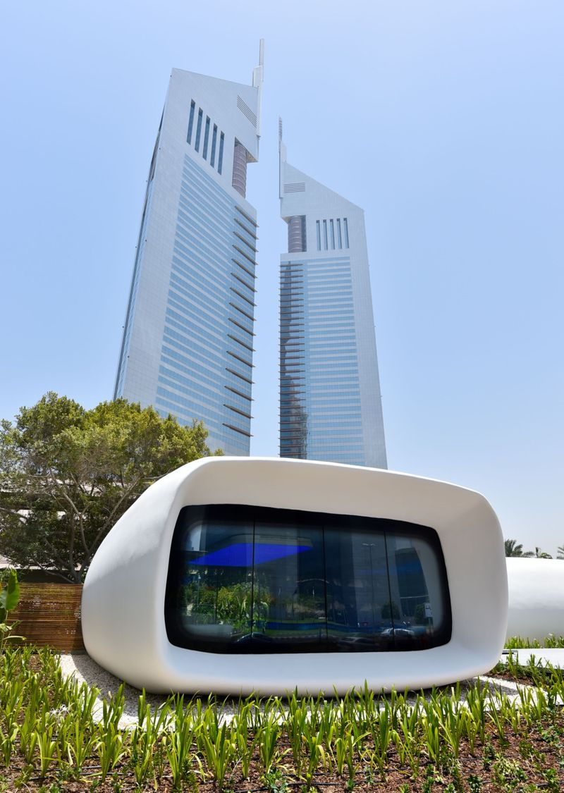 PW_190807_workplace_Office of the Future, World's First 3D Printed Office near Jumeirah Emirates towers_Virendra Saklani Gulf News-1565102927137