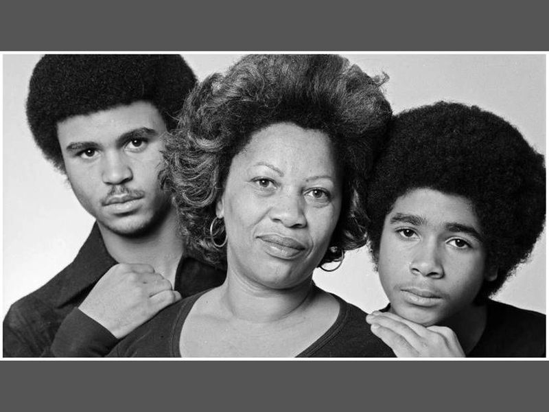 Toni Morrison had two sons