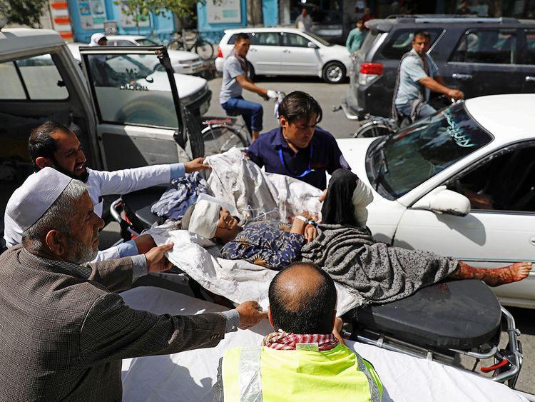 Kabul, Afghanistan, blast
