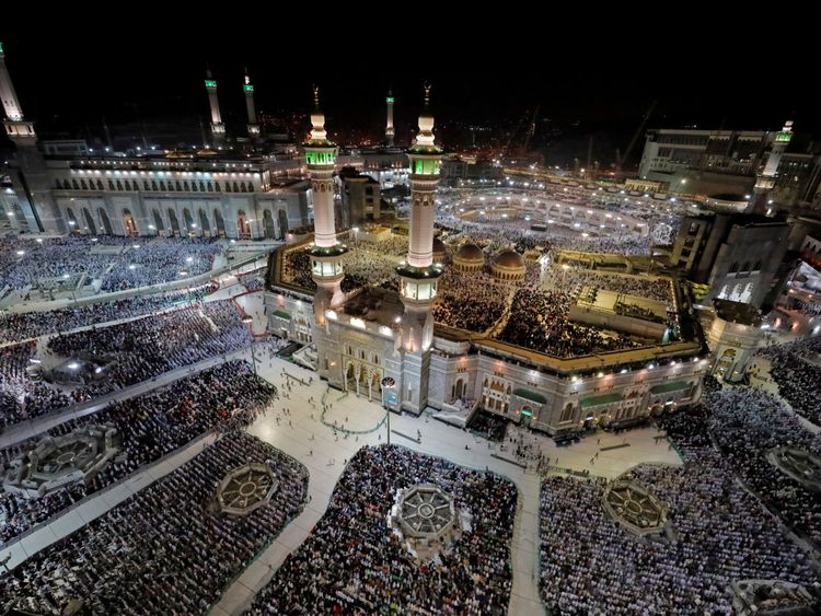 Muslim pilgrims elated as they descend on Makkah for Hajj