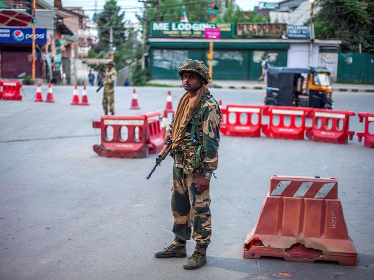 Kashmir guards
