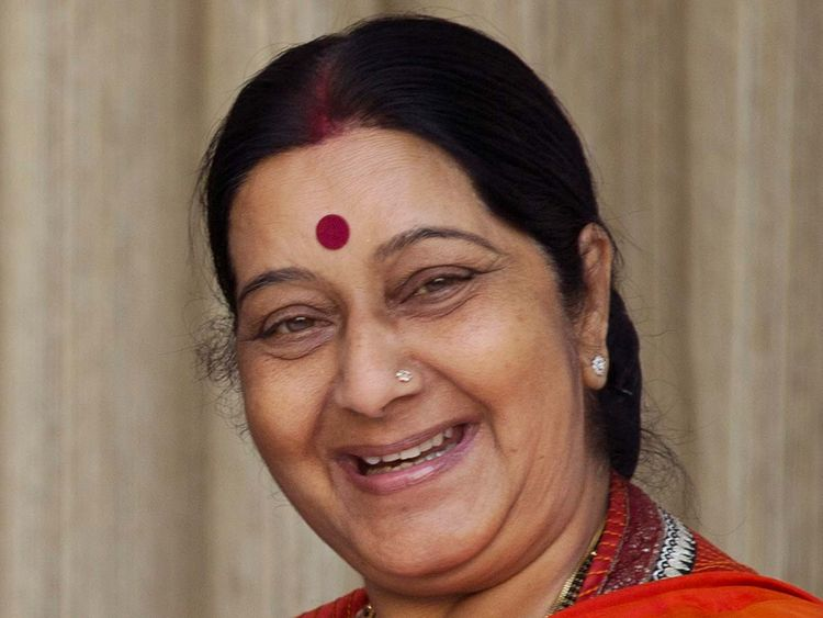 Sushma Swaraj new 20190807