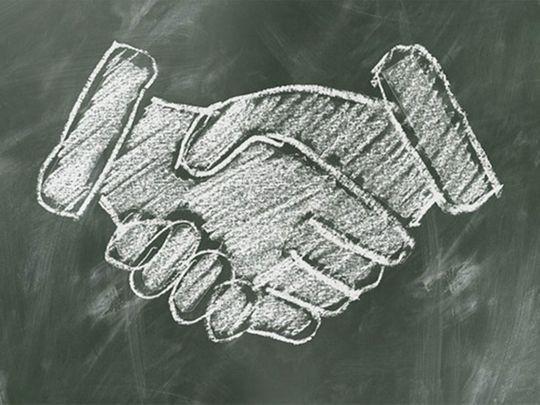 The UAE-Saudi alliance is here to stay, handshake