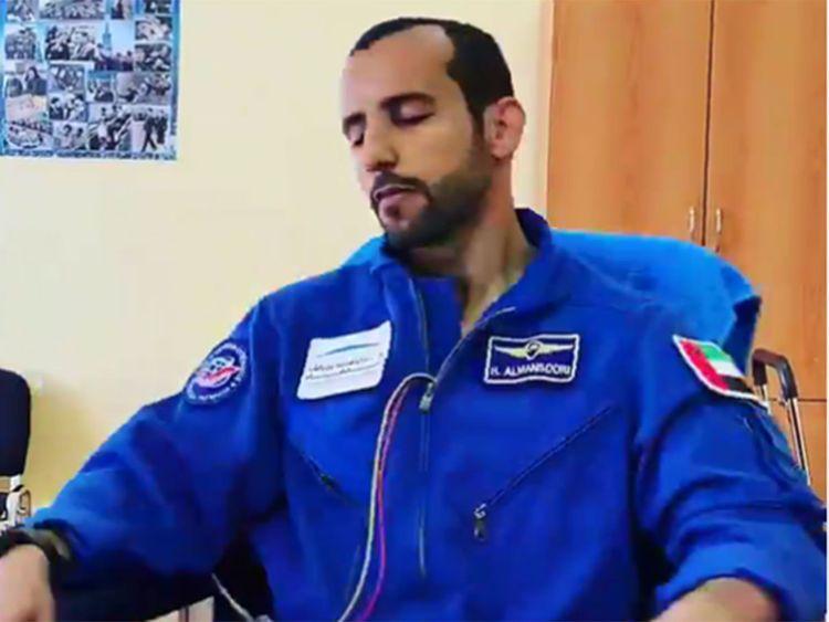 Al Mansoori ISS