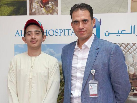 Ibrahim Abu Nemir with Dr Jamal Alkoteesh