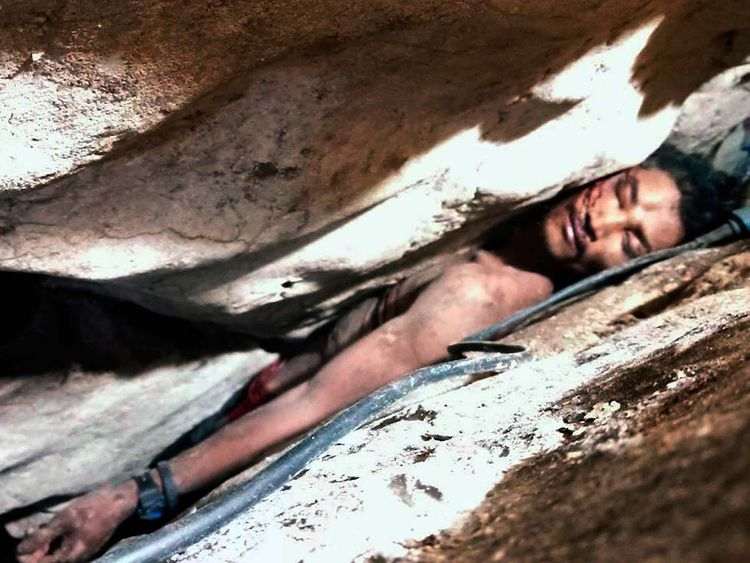 Sum Bora, Cambodian man wedged in rocks 20190808