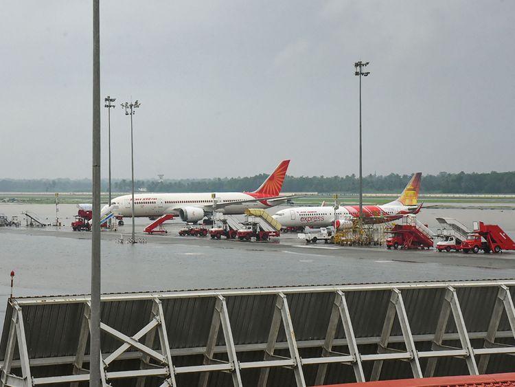 Kochi airport floods