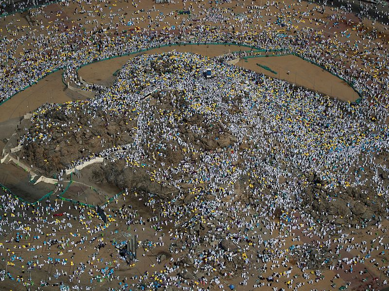 Mount Mercy on the plains of Arafat 005