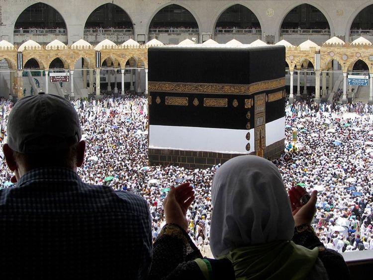 Muslim pilgrims Makkah pilgrims 0121