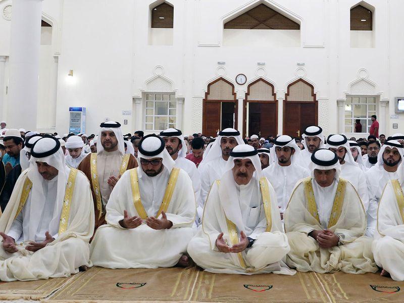 His Highness Sheikh Saud Al Mualla