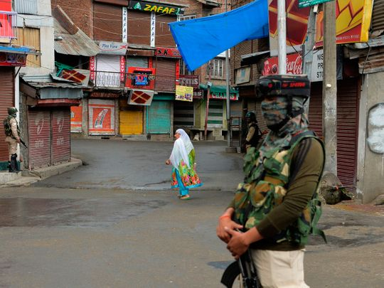 Kashmir telecom blackout