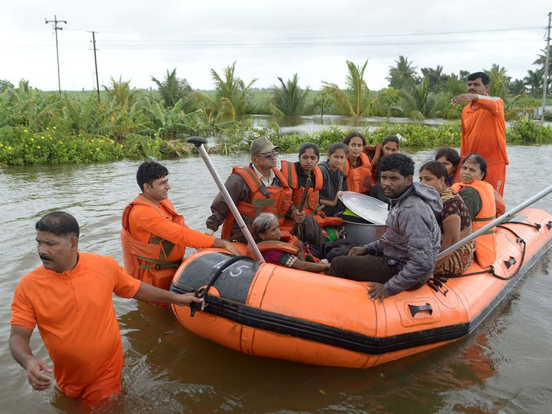Members of National Disaster Response Force (NDRF) 0212