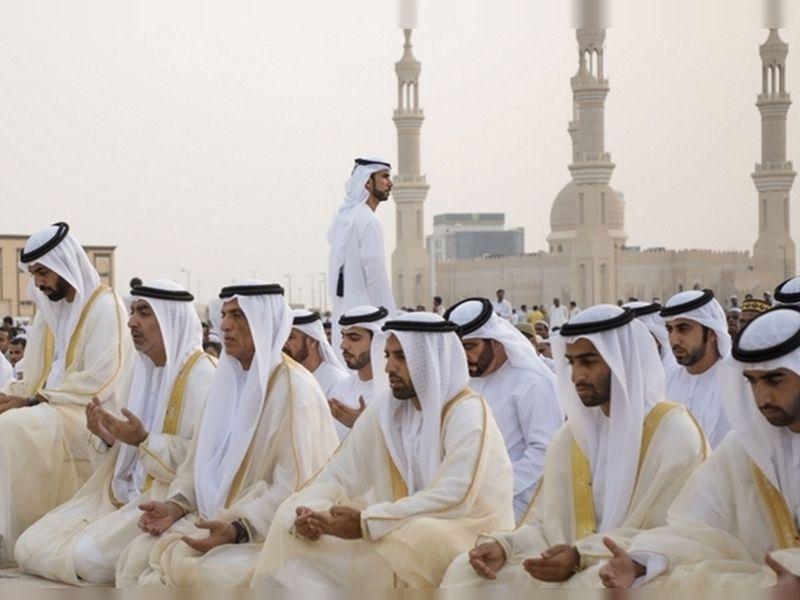 Shk Saud RAK Eid