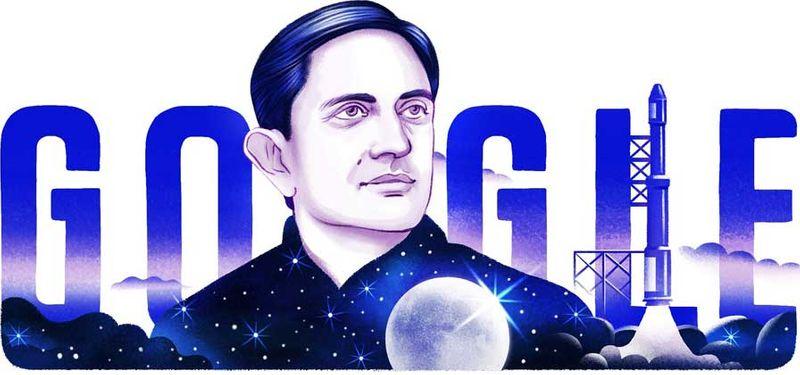 Google Doodle on Vikram Sarabhai