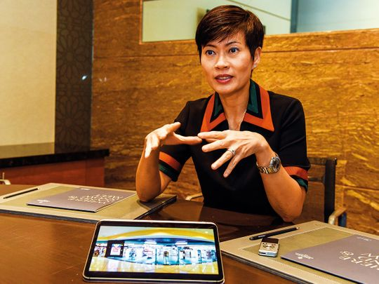 Malina Ngai, group chief operating officer of A.S. Watson