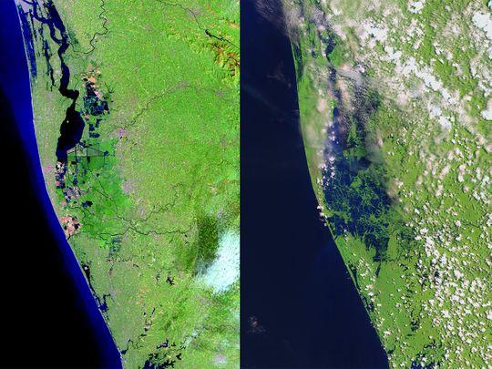 NASA Kerala Floods