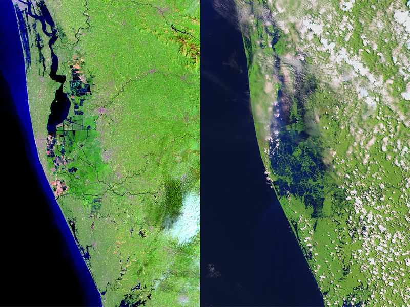 NASA Kerala Floods