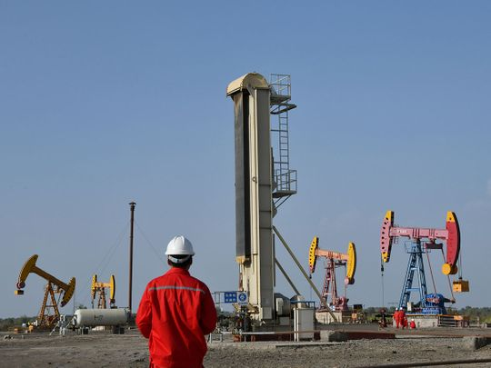 oil field in Bayingol