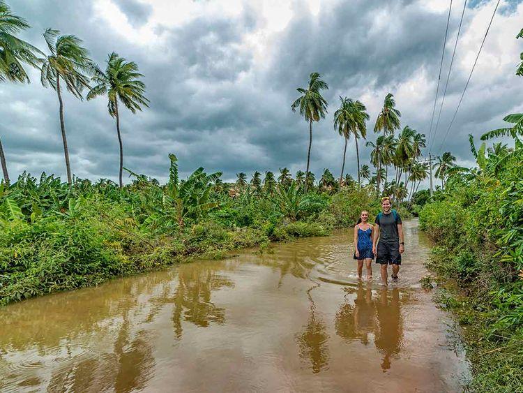 Hampi heritage site flood 2090813