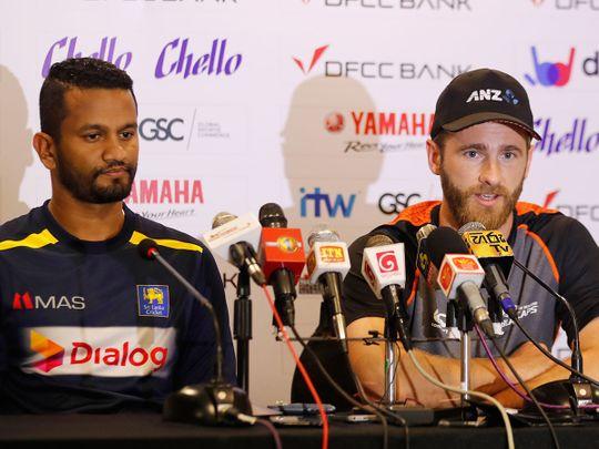 New Zealand's cricket captain Kane Williamson