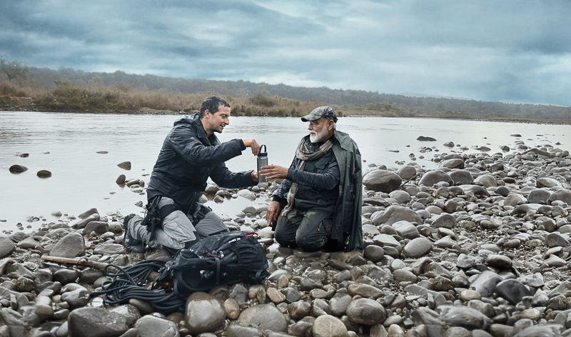 PM Modi with Bear Grylls- ManVsWild India2-1565699732184