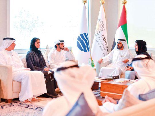 Sheikh Mohammed Bin Rashid and Sheikh Hamdan Bin Mohammed
