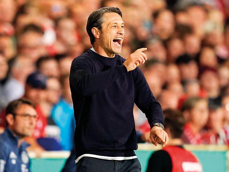 Bayern Munich's coach Niko Kovac