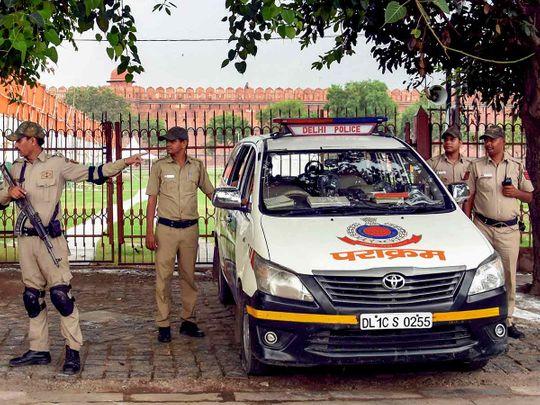 Delhi security 20190814