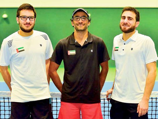 UAE tennis targets Davis Cup success ahead of Expo 2020