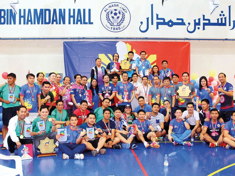 Saudi Arabia's Jubail dominate in annual table tennis event