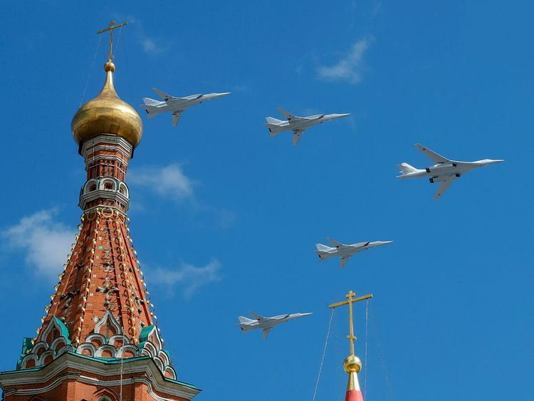Russian Nuclear Bombers Fly 20 Minutes From Us Europe Gulf News