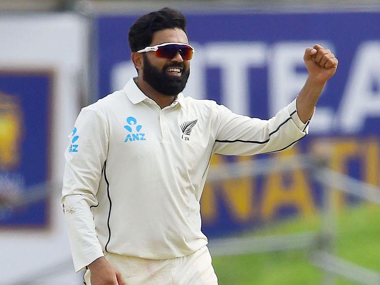 New Zealand's Ajaz Patel