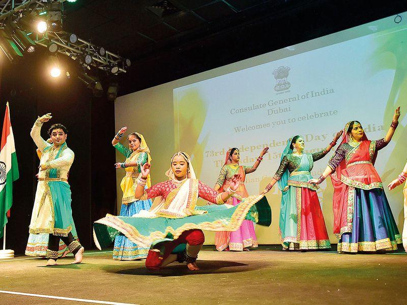 The Nrityanjali dance troupe