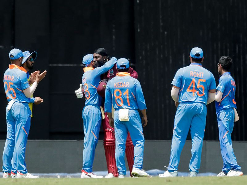West Indies opening batsman Chris Gayle