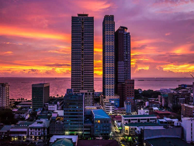 manila generic skyline