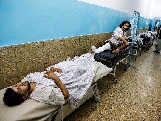 Kabul Wedding Blast Images