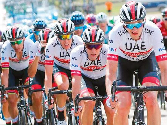UAE Team Emirates make their mark in Vuelta a Burgos