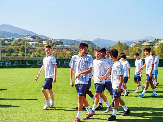 Young UAE footballers attend Spain scouting camp