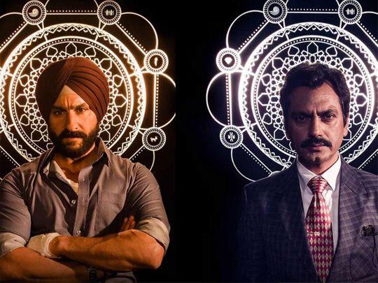 Saif Ali Khan and Nawazuddin Siddique in 'Sacred Games' Season 2 20190819