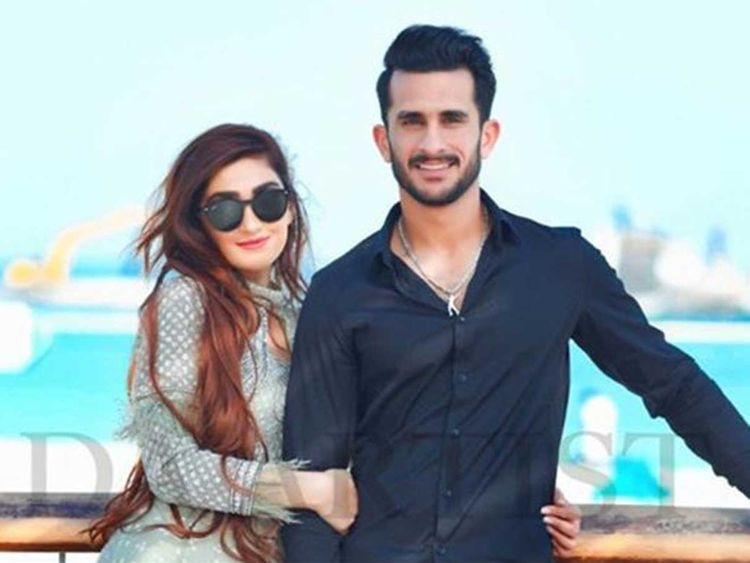 Image result for pakistani cricketer hassan ali wife