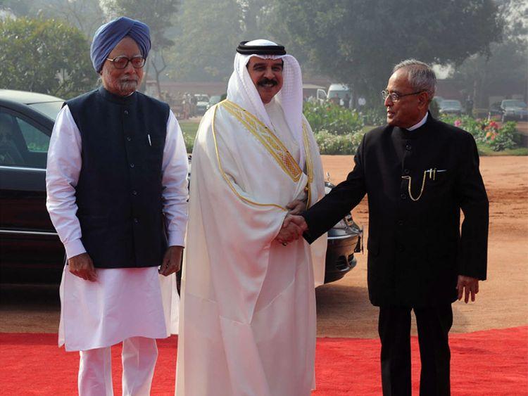 Bahrain's King Hamad Bin Eisa
